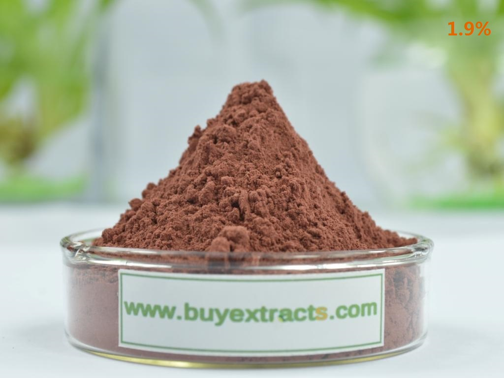 Red yeast rice extract 1.9%